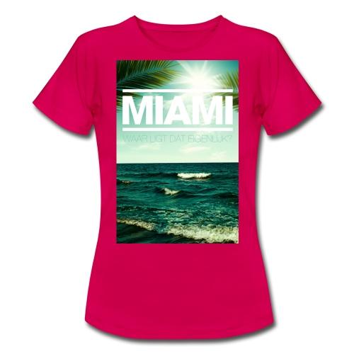 Miami vrouwen t-shirt - Vrouwen T-shirt