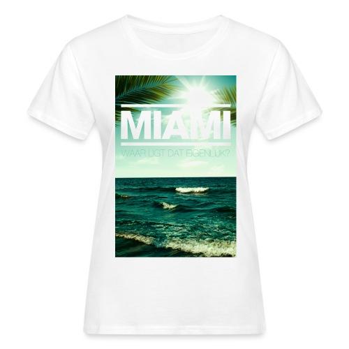 Miami vrouwen bio - Vrouwen Bio-T-shirt