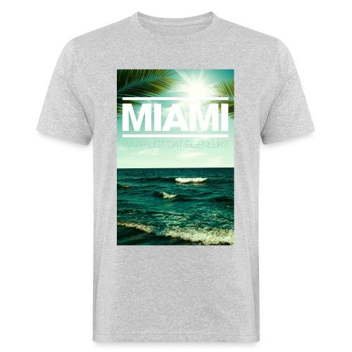 Miami mannen bio - Mannen Bio-T-shirt