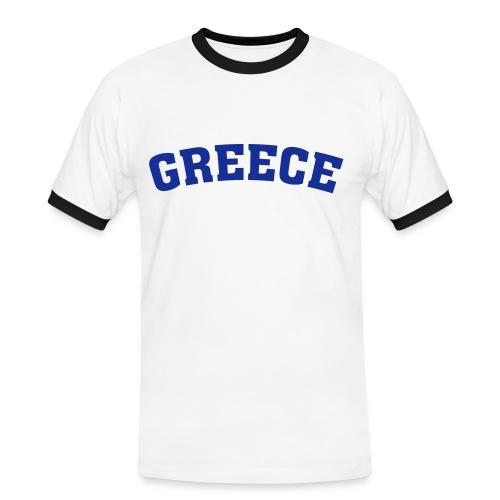 T-shirt Greece Team (numéro 9) - T-shirt contrasté Homme