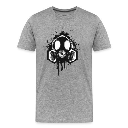 'Gas' Premium Front Print LDT T - Men's Premium T-Shirt