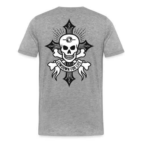 'For Life' Premium Back Print LDT T - Men's Premium T-Shirt