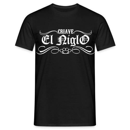 T-shirt noir Chicano Street - T-shirt Homme