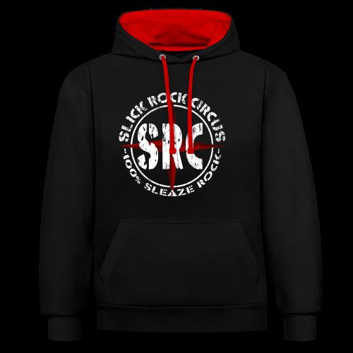 SRC - Vintage Hoodie - Kontrast-Hoodie