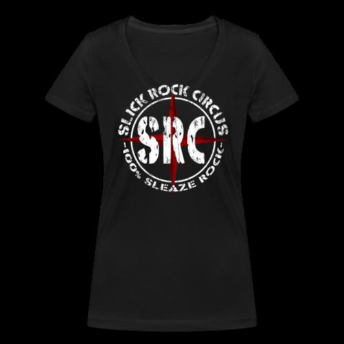 SRC - Vintage Girlie Shirt, V-neck - Frauen Bio-T-Shirt mit V-Ausschnitt von Stanley & Stella