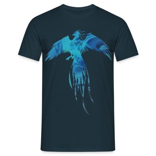 T-shirt homme bleu marine Phoenix LMM - T-shirt Homme