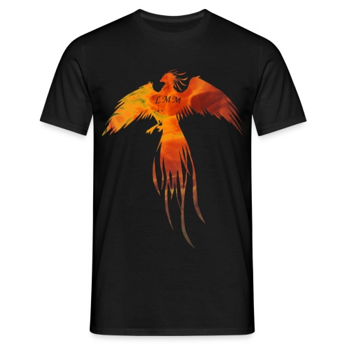 T-shirt homme noir Phoenix LMM - T-shirt Homme
