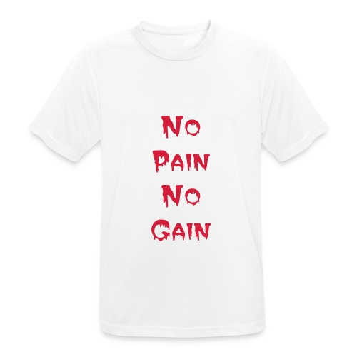 Shirt No Pain - Männer T-Shirt atmungsaktiv