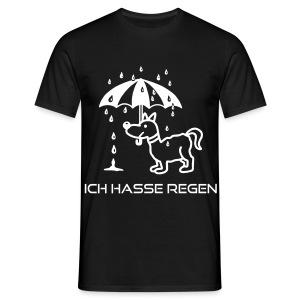ich-hasse-Regen - Männer T-Shirt