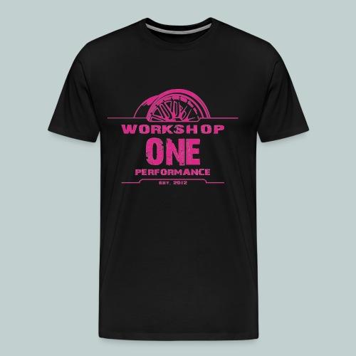 wOp Shirt pink - Männer Premium T-Shirt