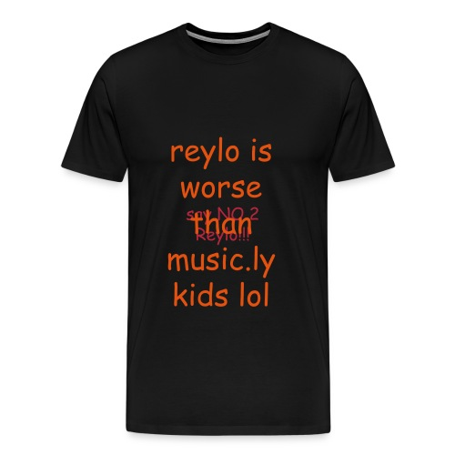 say no 2 reylo  - Men's Premium T-Shirt