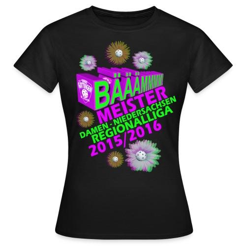 Meisterhshirt Damen Regionalliga Floorball SCW Göttingen 2016 - Frauen T-Shirt