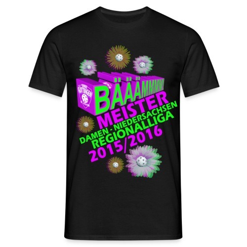 Meisterhshirt Damen Regionalliga Floorball SCW Göttingen 2016 - Männer T-Shirt