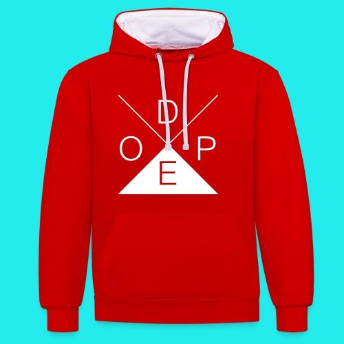 Dope Pullover - Kontrast-Hoodie