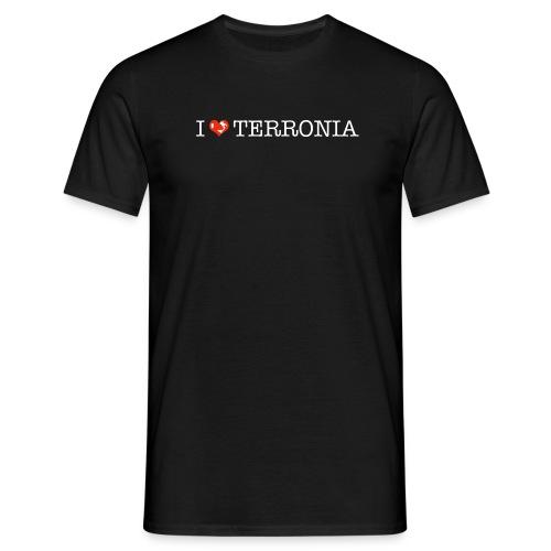 I Love Terronia - Maglietta da uomo
