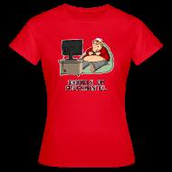 T-Shirts ~ Frauen T-Shirt ~ Daddeln im Speckmantel