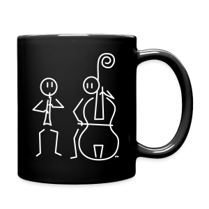 Duo hobo / double bass [double-sided] - Full Colour Mug