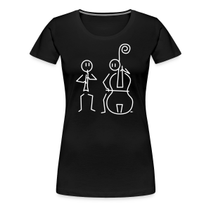 Duo hobo / double bass - Women's Premium T-Shirt
