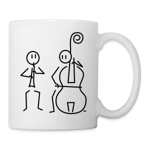 Duo hobo / double bass [single-sided] - Mug
