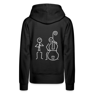 Duo hobo / double bass - Women's Premium Hoodie