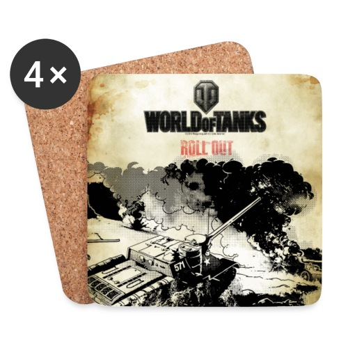 World of Tanks Roll out Untersetzer - Coasters (set of 4)