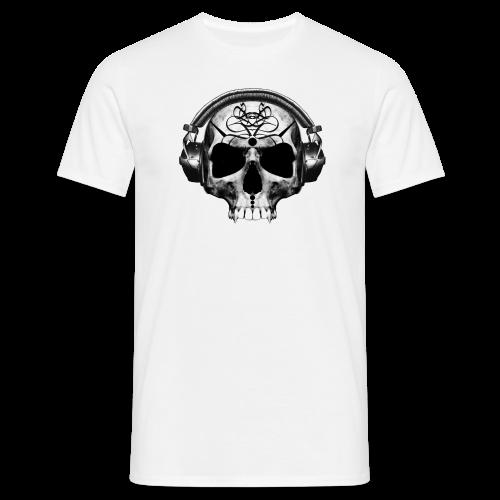 Skull Art Helmet - T-shirt Homme
