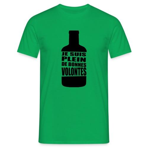 T-shirt Bonnes Volontés - T-shirt Homme