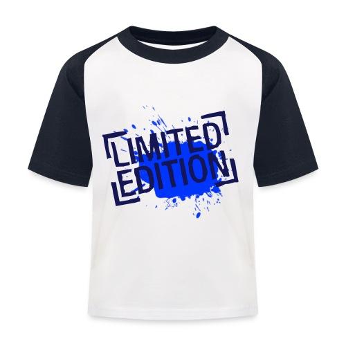 T-Shirt LIMITED EDITION pour enfants - T-shirt baseball Enfant