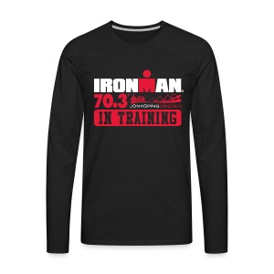 IRONMAN 70.3 Jonkoping In Training Men's Premium T-shirt LS - Men's Premium Longsleeve Shirt