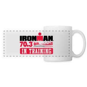 IRONMAN 70.3 Jonkoping In Training Mug - Panoramic Mug