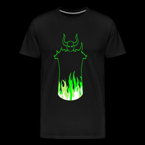 Dark Warrior Acid - Herre premium T-shirt - Herre premium T-shirt