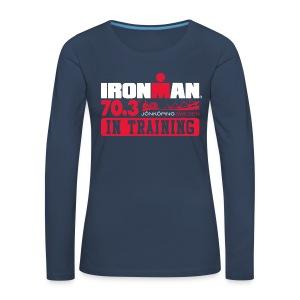 IRONMAN 70.3 Jonkoping In Training Women's Premium T-shirt LS - Women's Premium Longsleeve Shirt