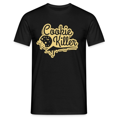 COOKIE KILLER T-SHIRT SCHWARZ - Männer T-Shirt