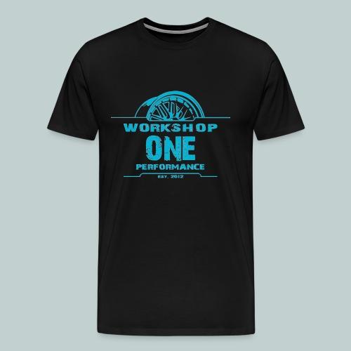 wOp Shirt blau - Männer Premium T-Shirt