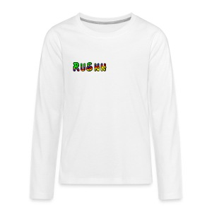 Teenager's RuShh Shirt - Teenagers' Premium Longsleeve Shirt