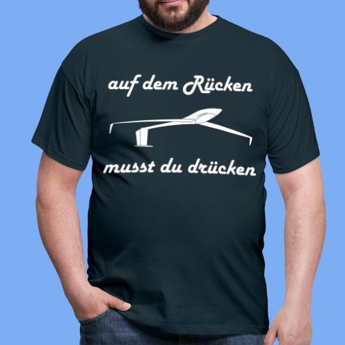 Rückenflug - Men's T-Shirt