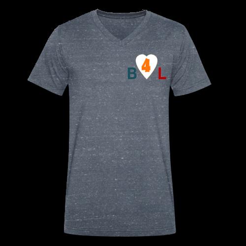 Blog4Lives T-shirt met V-hals | Men - Mannen bio T-shirt met V-hals van Stanley & Stella