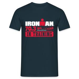 IRONMAN 70.3 Jonkoping In Training Men's T-shirt  - Men's T-Shirt