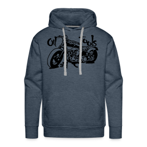 Oil and Tools - Sweat-shirt à capuche Premium pour hommes