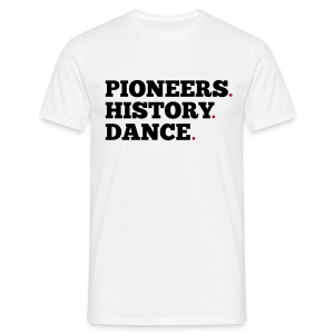 Pioneers History Dance t-shirt (white) - Men's T-Shirt