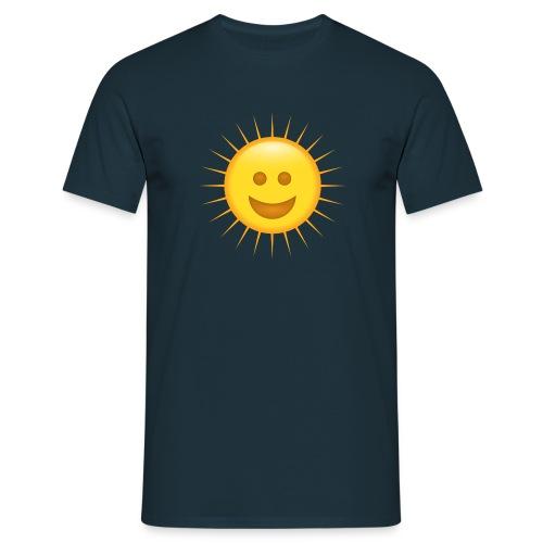 Sol sonriente Smiley - Camiseta hombre