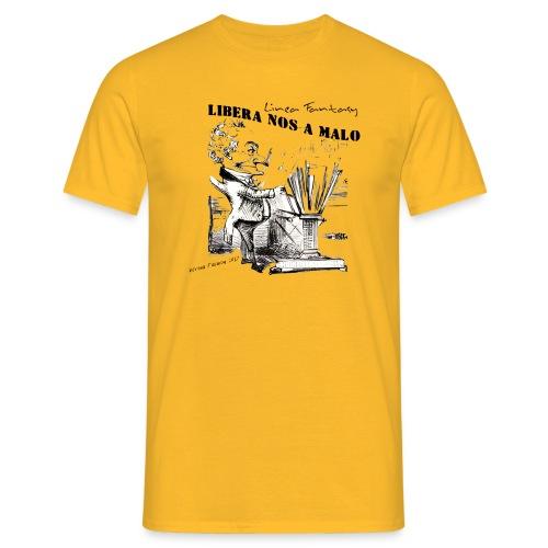 Gnomo Fantasy disegnato a mano - Maglietta da uomo