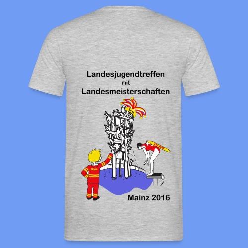 Herren-Shirt mit Logo - Männer T-Shirt