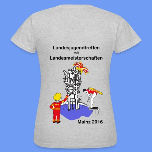 Girlie-Shirt mit Logo - Frauen T-Shirt