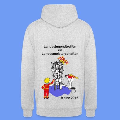 Kapuzen-Pullover mit Logo - Unisex Hoodie