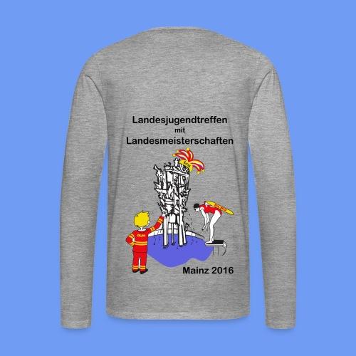 Langarm-Shirt mit Logo - Männer Premium Langarmshirt