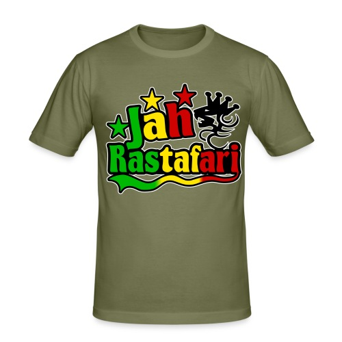 Jah-R - Men's Slim Fit T-Shirt