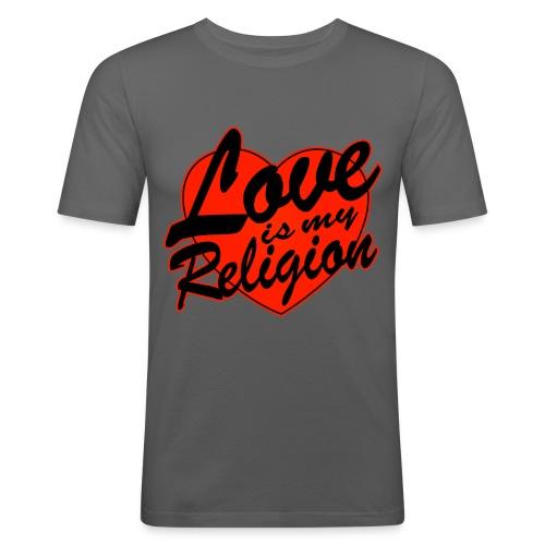 Love is my Religion - Men's Slim Fit T-Shirt