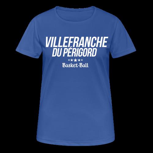 Tee-shirt femme 100% polyester - T-shirt respirant Femme