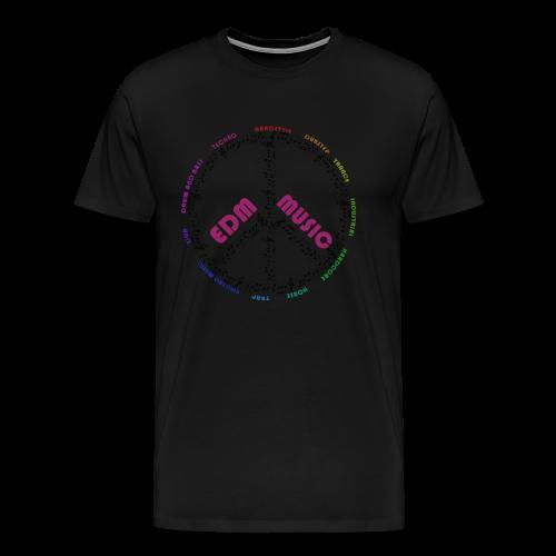 EDM-Music T-Shirt - Männer Premium T-Shirt